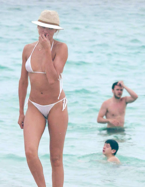 Consider, that Cameron diaz see through bikini opinion