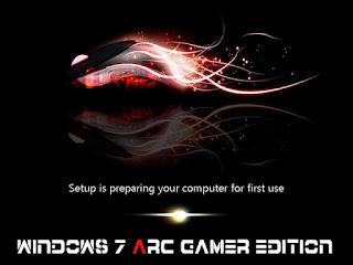 Windows 7 Arc Gamer Edition 32bit ISO