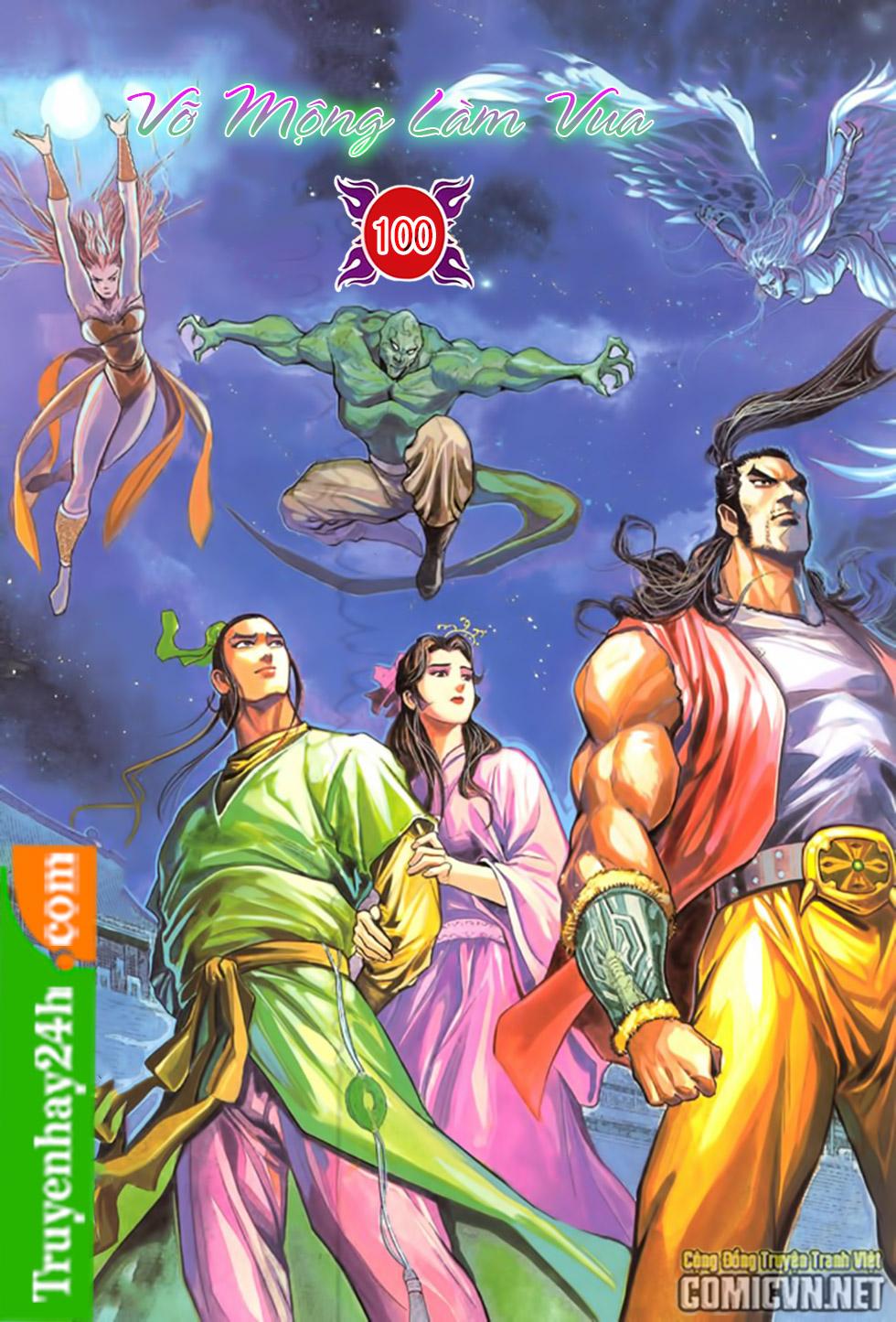 Thiên Long Bát Bộ chap 100 – End Trang 1 - Mangak.info