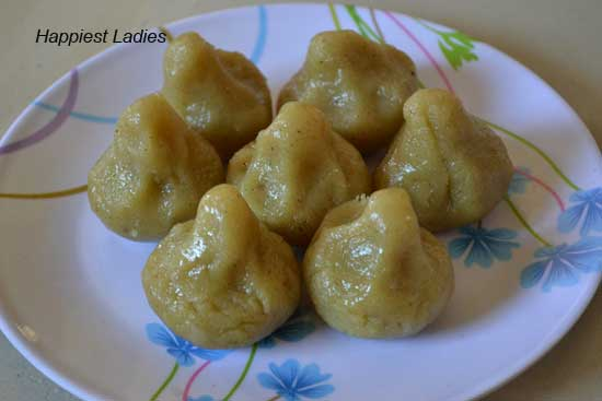 Modhaka Recipe – Sweet Dumplings for Ganesha Chaturthi