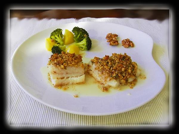 Paussion cook bacalao frecole con nueces - Cocinar bacalao congelado ...