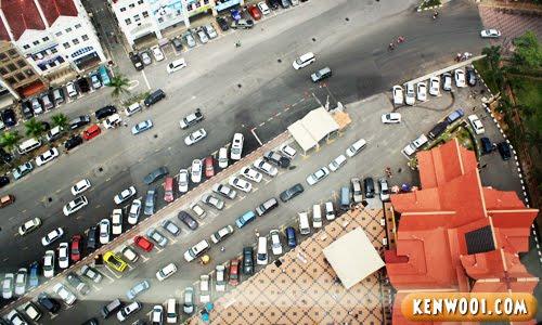 menara taming sari view