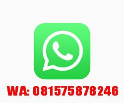 UNTUK PEMESANAN, HUBUNGI SEGERA: SMS/WA