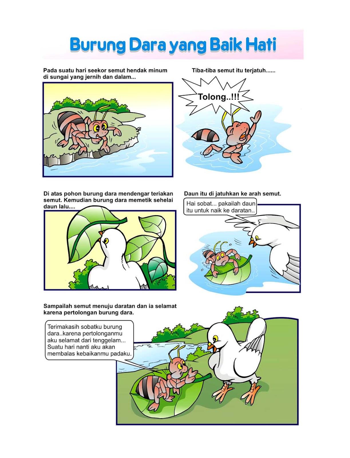 Jasa Ilustrator Buku Anak Contoh Ilustrasi Dalam Buku