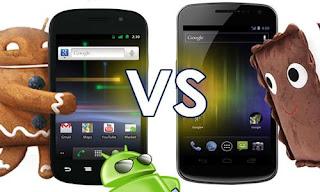 Principales diferencias entre Android 4.0 y la versión 2.3