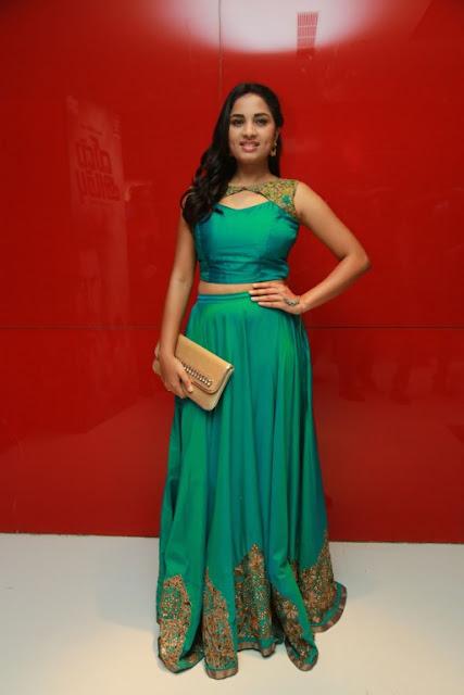 Srusthi Dange glamorous in a Tight Green Choli and Ghagra Stunning Pics