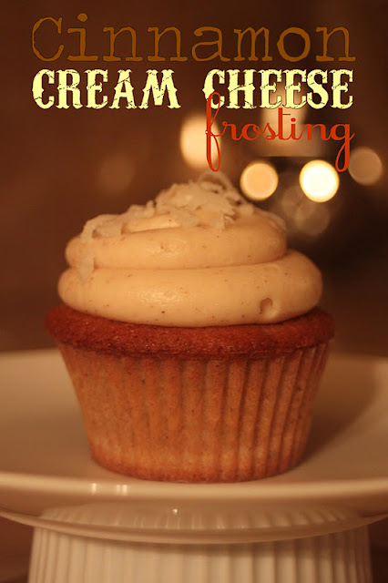 Embellish: {recipe} Cinnamon Cream Cheese Frosting