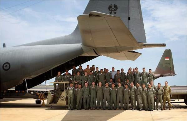TNI AU Terima Perwira Angkatan Udara Thailand