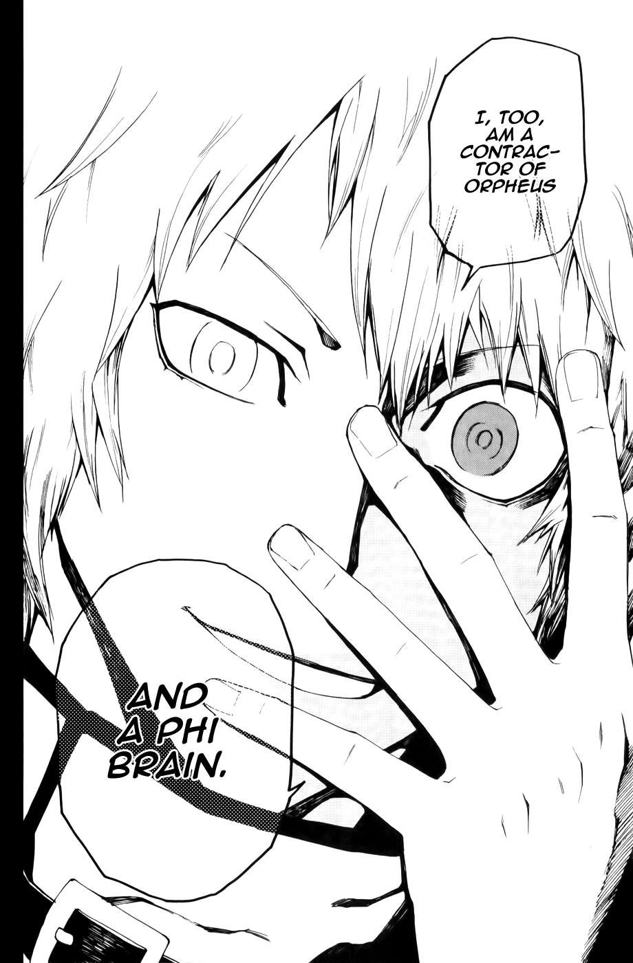 Phi Brain - Kami no Puzzle - Chapter 10