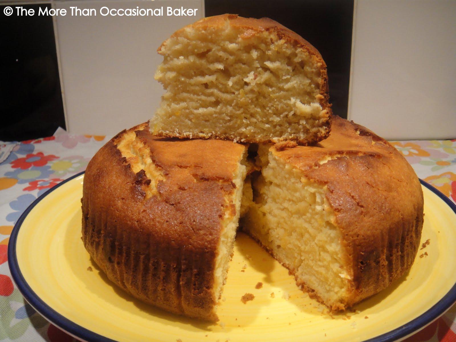 The more than occasional baker: Lemon Yoghurt Cake