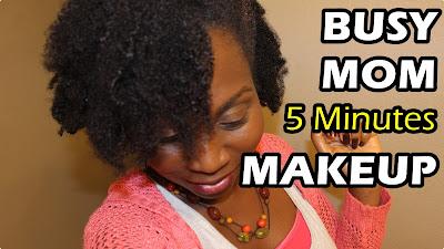 5 Minutes Makeup Look