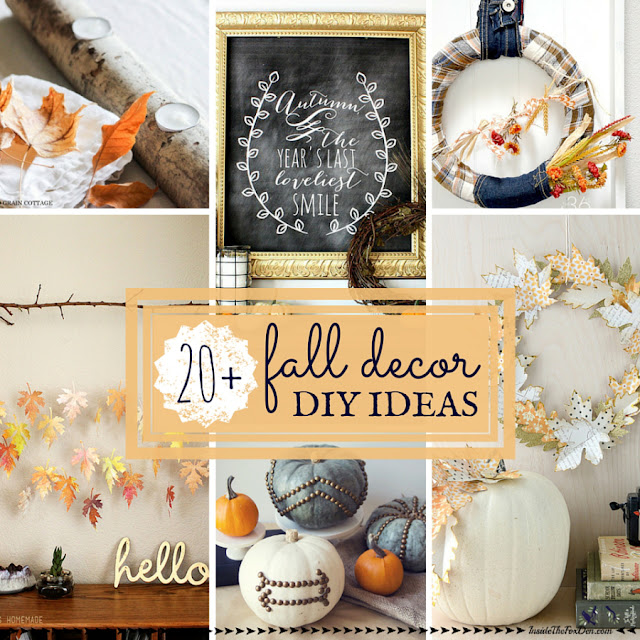 fall decor diys