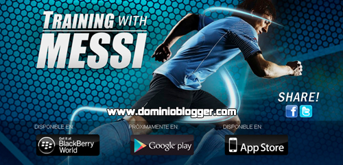 Juega Training With Messi en tu Smartphone