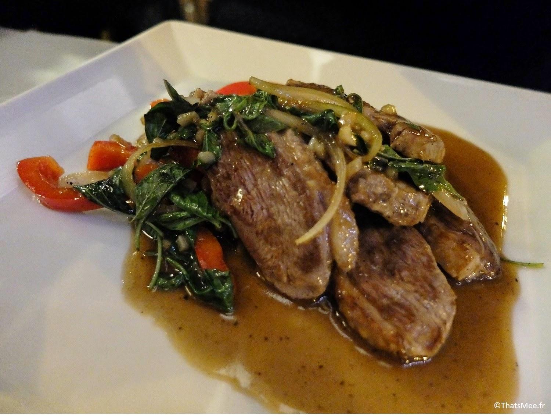 Thai Spices resto Cantine Thaï Paris canard