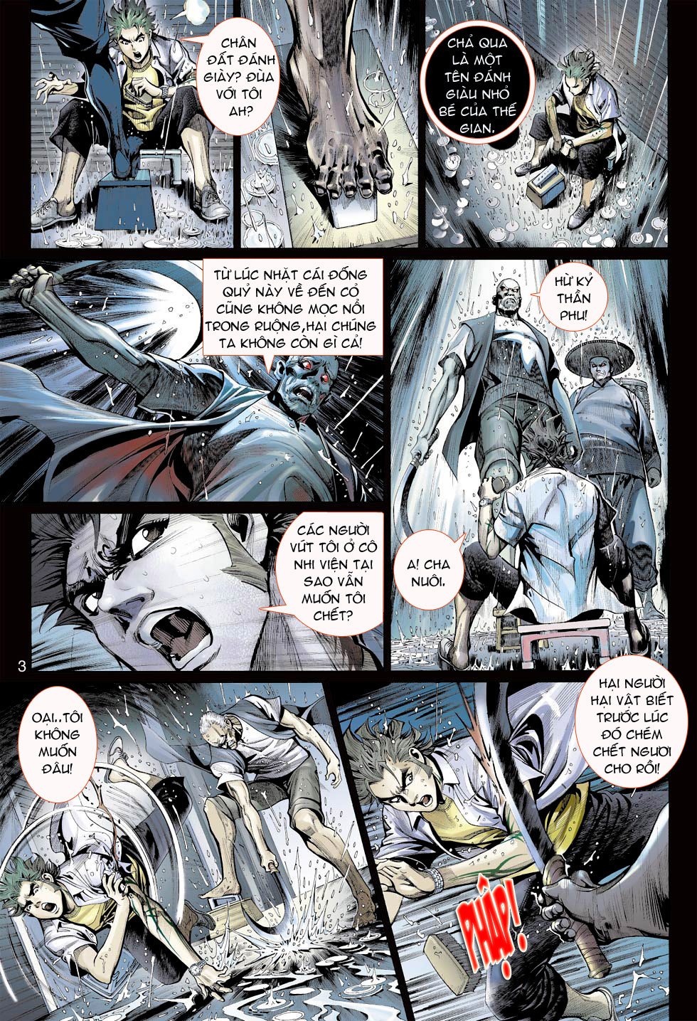 Thần Binh 4 chap 23 - Trang 3