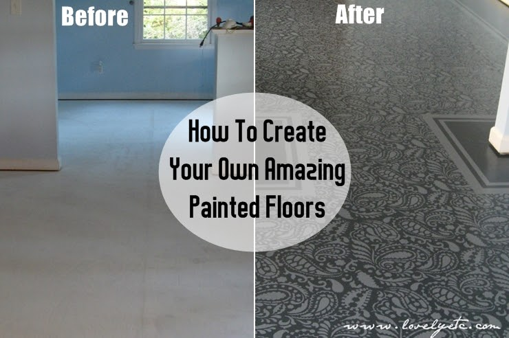DIY: How To Create Your Own Amazing Painted Floors