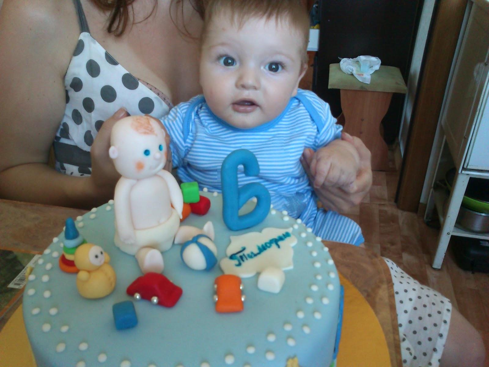 На 6 месяцев девочке своими руками