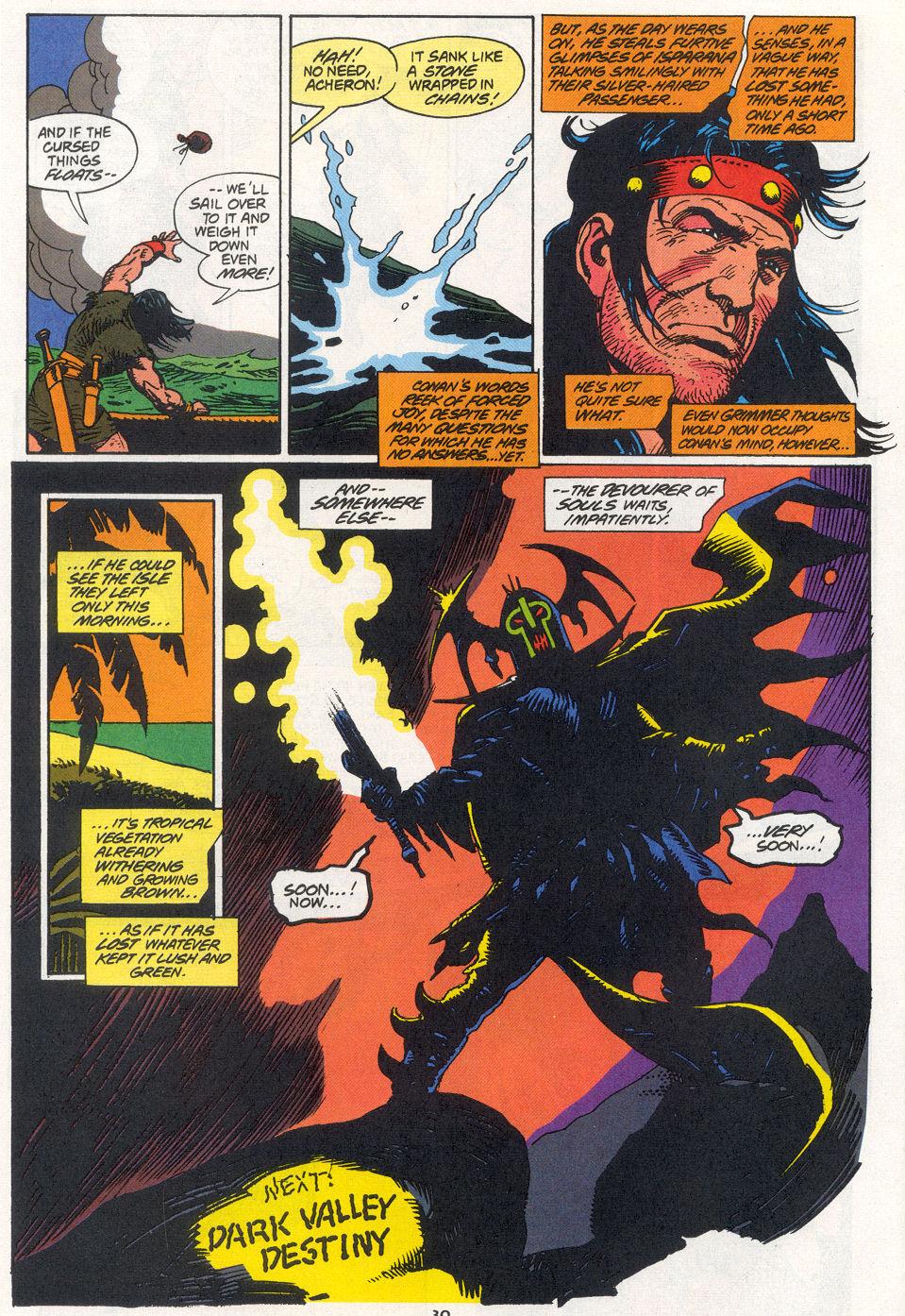 Conan the Barbarian (1970) Issue #270 #282 - English 22
