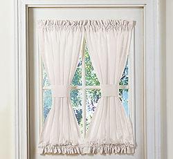 Cortinas para el hogar ideas para hacer cortinas tipo visillos - Cortinas para puertas de cocina ...