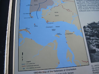 map of Charleston Harbor