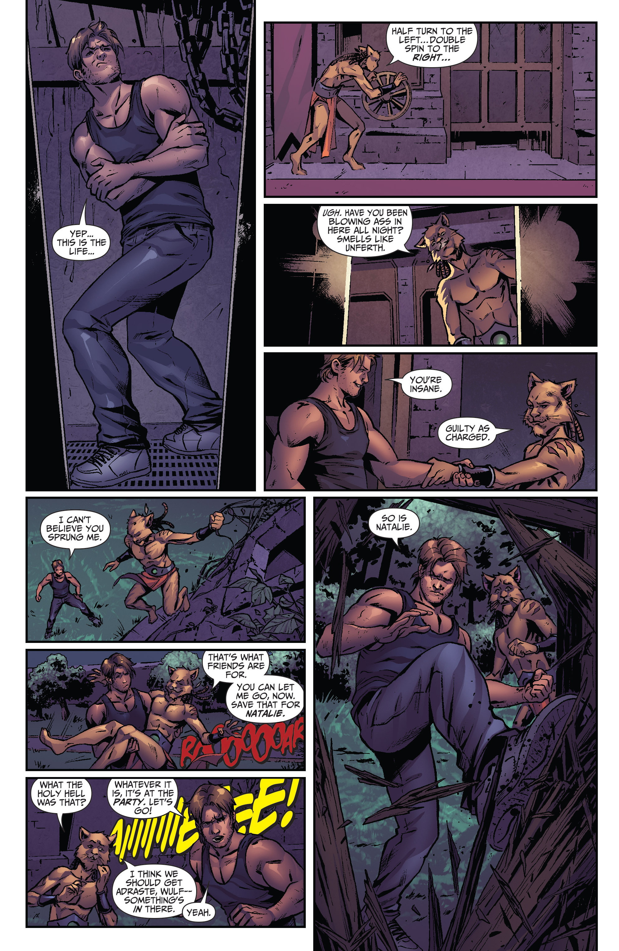 Grimm Fairy Tales (2005) Issue #109 #112 - English 11
