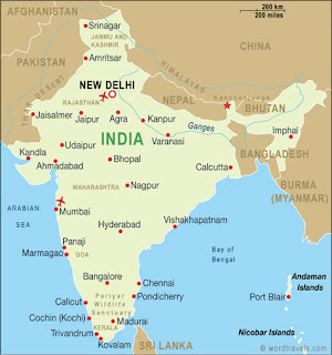 india map at indianiser