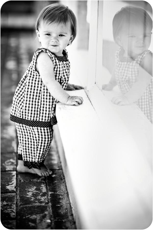 Child Standing at Window