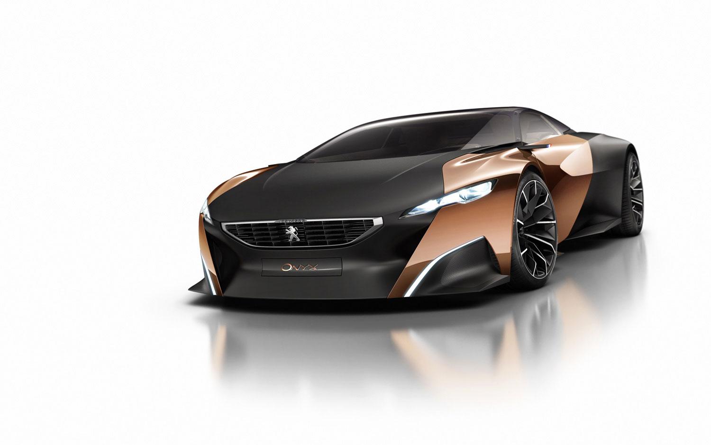 Onyx Car Parts : Cars model peugeot onyx supercar