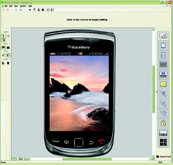 RBlackberry Bold 9700 GUI PSD V2