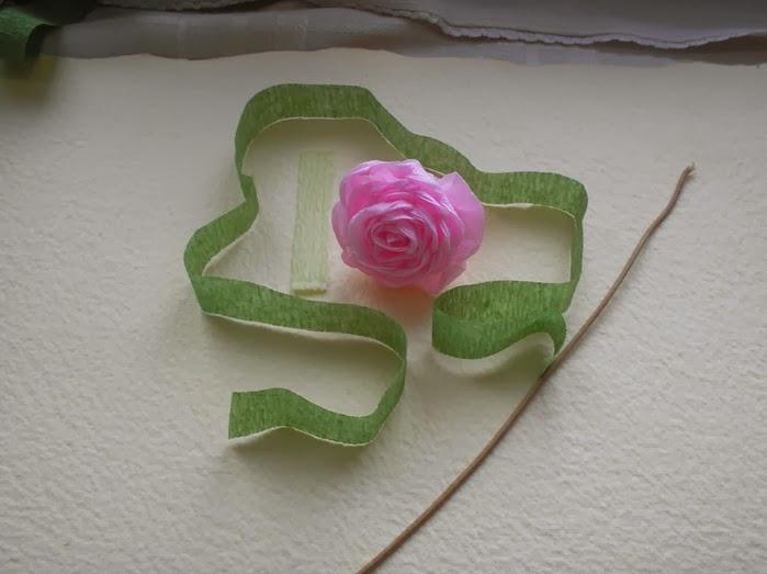 Manos a la obra como hacer un ramo de rosas con papel crepe - Como secar un ramo de rosas ...