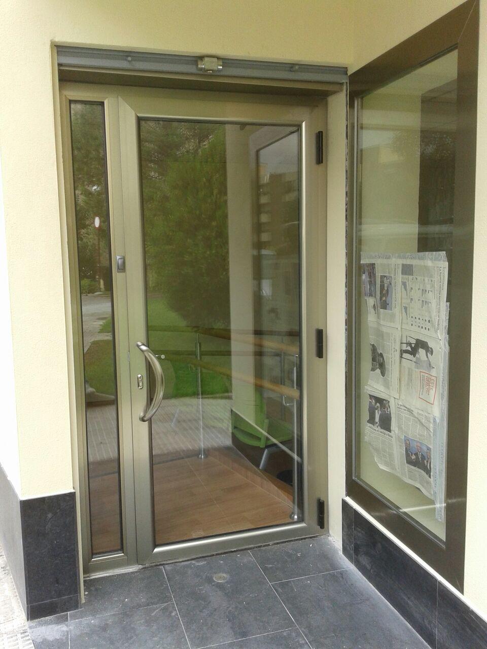 alces carpinter a de aluminio en zaragoza ventanas