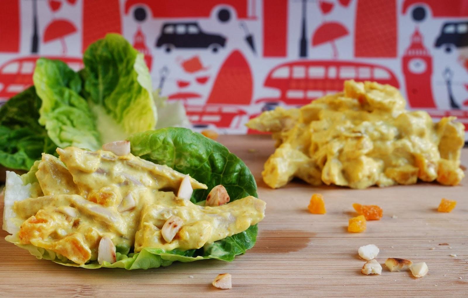 recette coronation chicken anglais