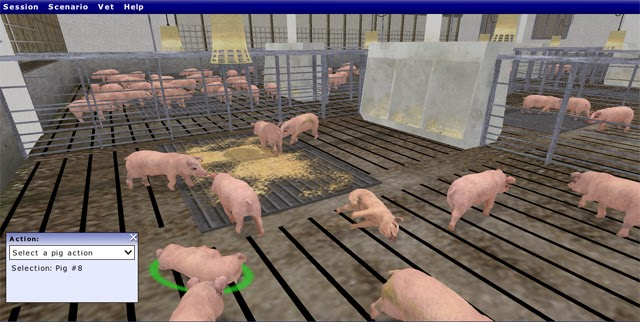 Animal Production Training Simulator