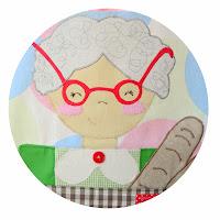 Grandma apron. Costurilla