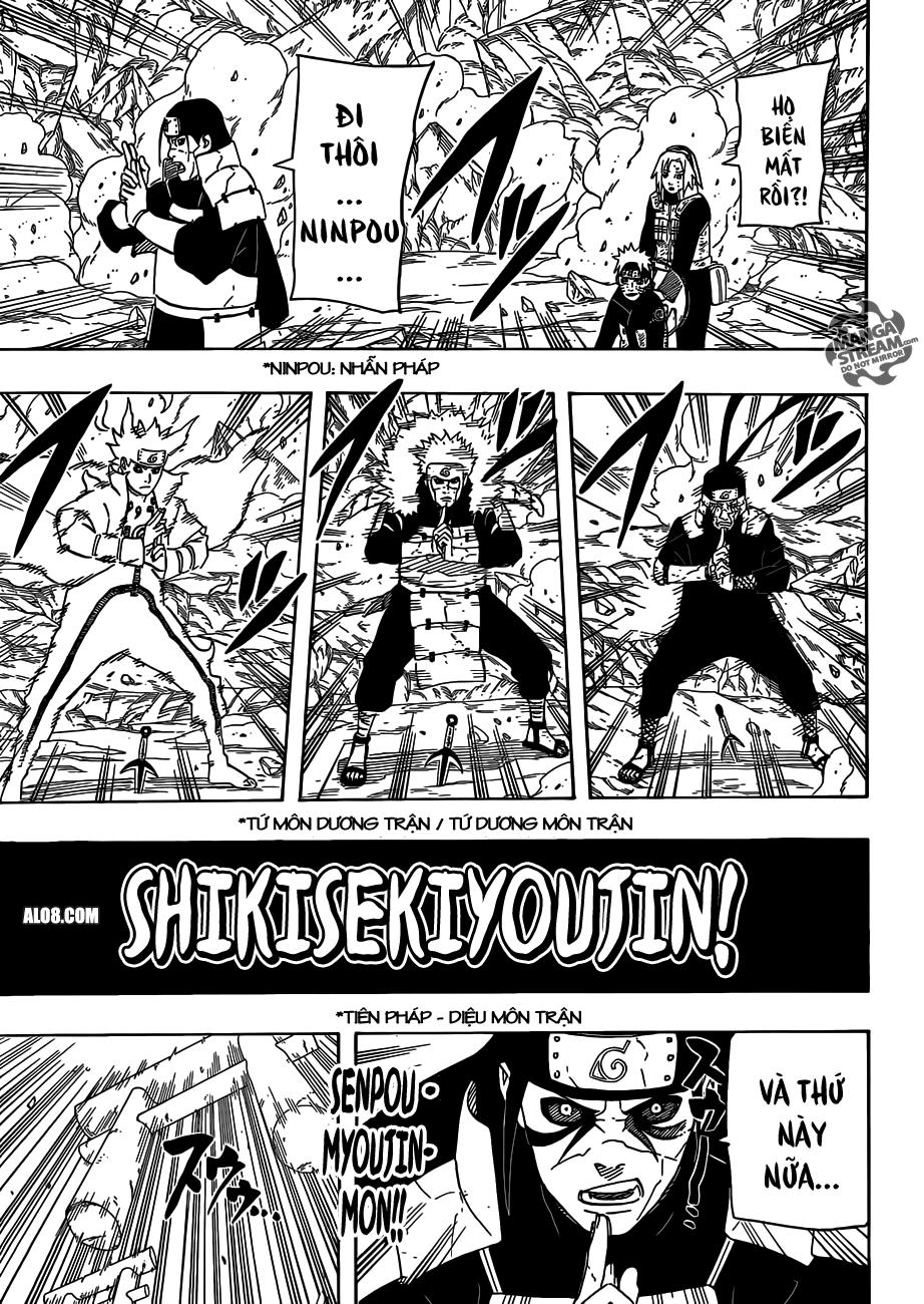 Naruto chap 631 Trang 8