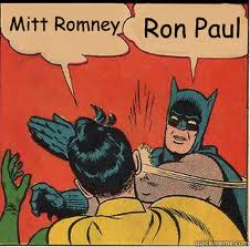 Mitt Romney is Batman
