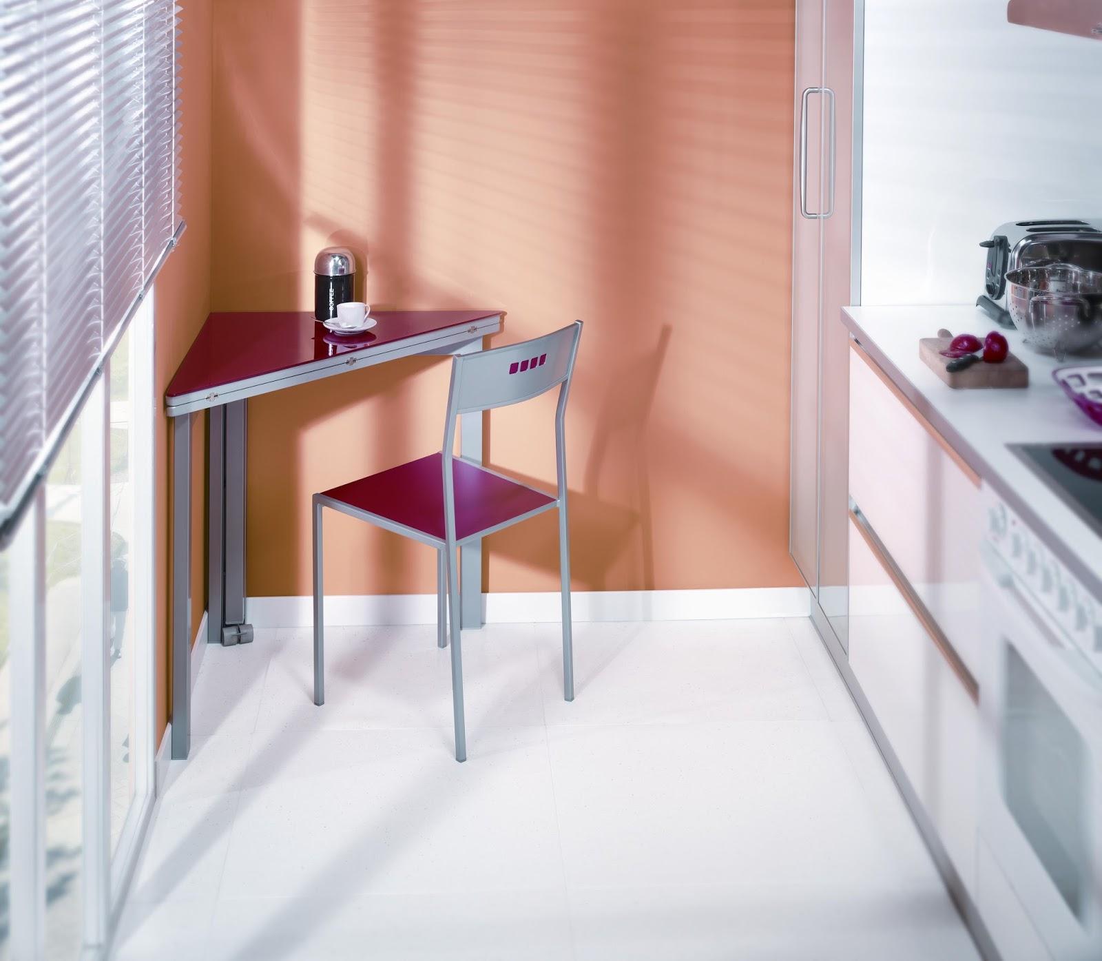 Hogar dulce hogar trucos para aprovechar el espacio for Mesas para esquinas