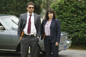 Jeremy Sisto and Sara Mornell in Wicked City (ABC)