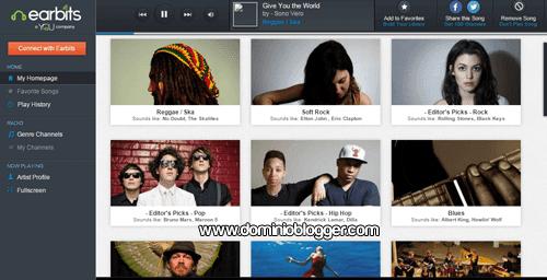 Escucha nuevos artistas gratis y online en Earbits