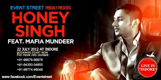 Honey Singh In Indore