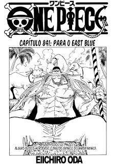 One Piece 841 Mangá portugues leitura online