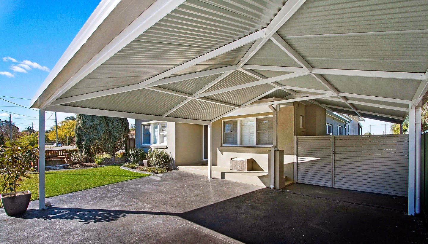Gallery Of Houses With Carports : Pro carports brisbane how much does a new carport cost in