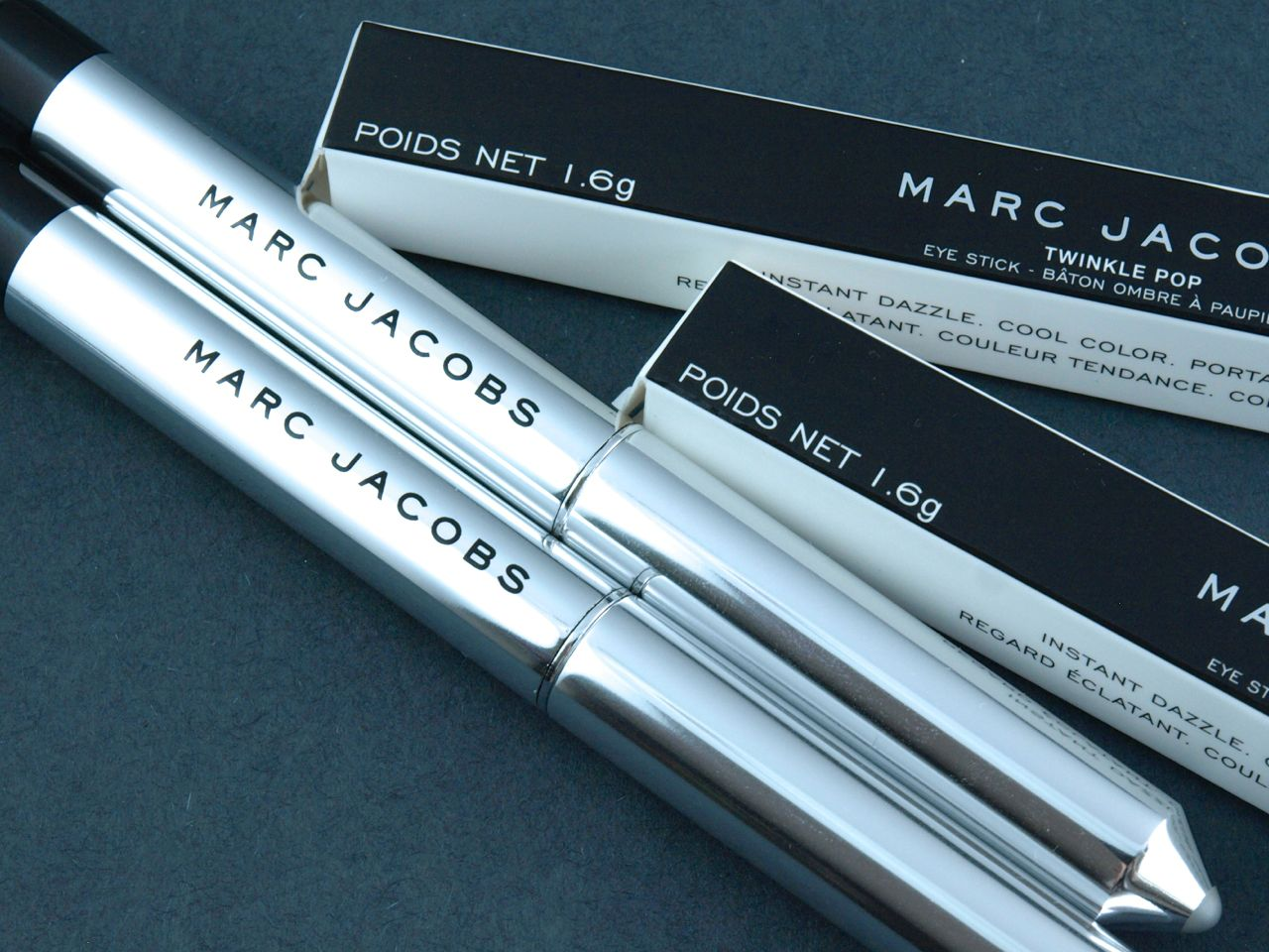 "Marc Jacobs Twinkle Pop Eye Stick in ""Frannie"" & ""Volver"": Review and Swatches"