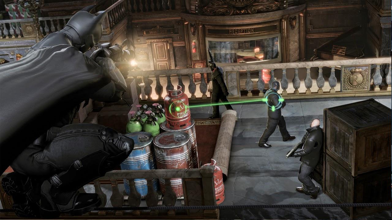 Batman Arkham Origins Cold Cold Heart Game