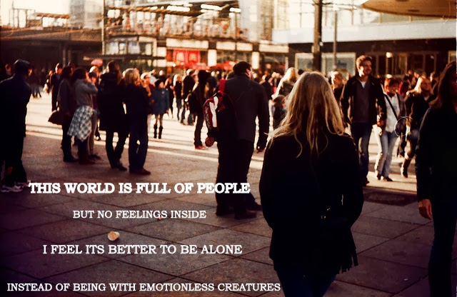 Girl Walking Alone Quotes