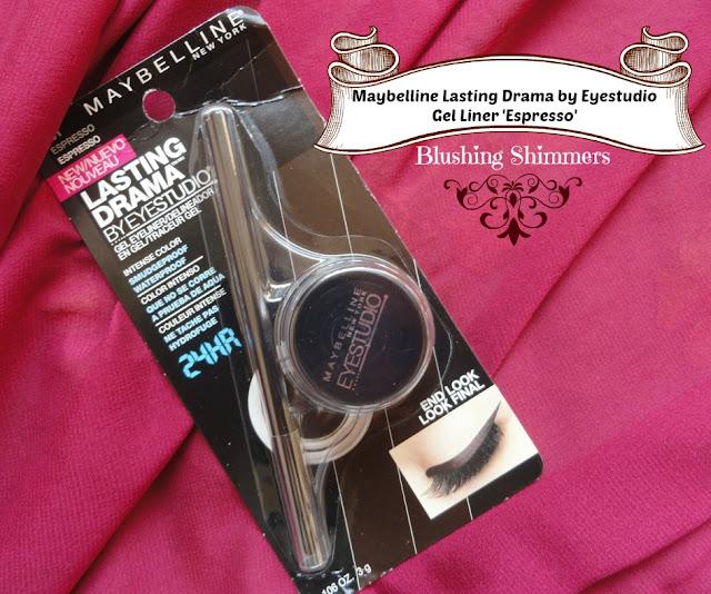 Maybelline Lasting Drama Eyestudio Gel Liner-Espresso