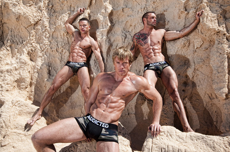 Addicted Underwear campaign