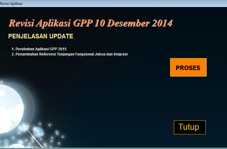 Aplikasi GPP 2015 Update GPP 10 Desember 2014