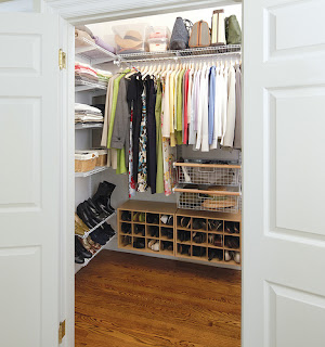 womens clothes closet