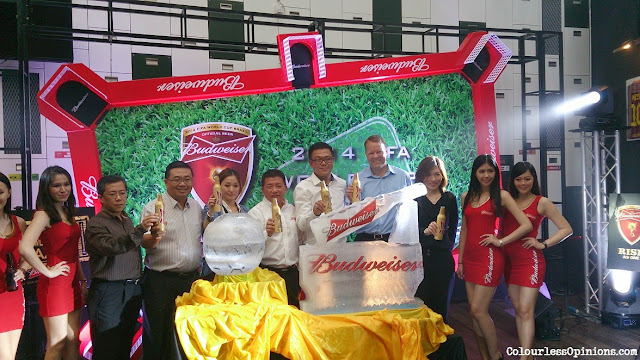 Budweiser Malaysia media launch 2014 FIFA World Cup marketing campaign